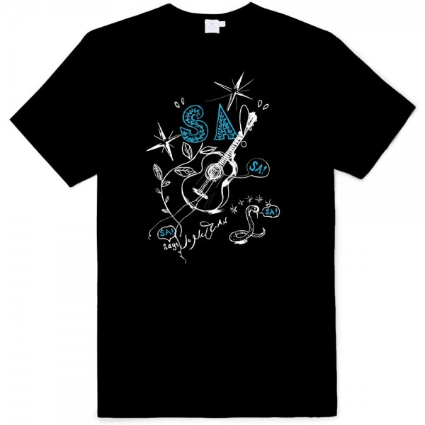 NEW 2-color Black Tee