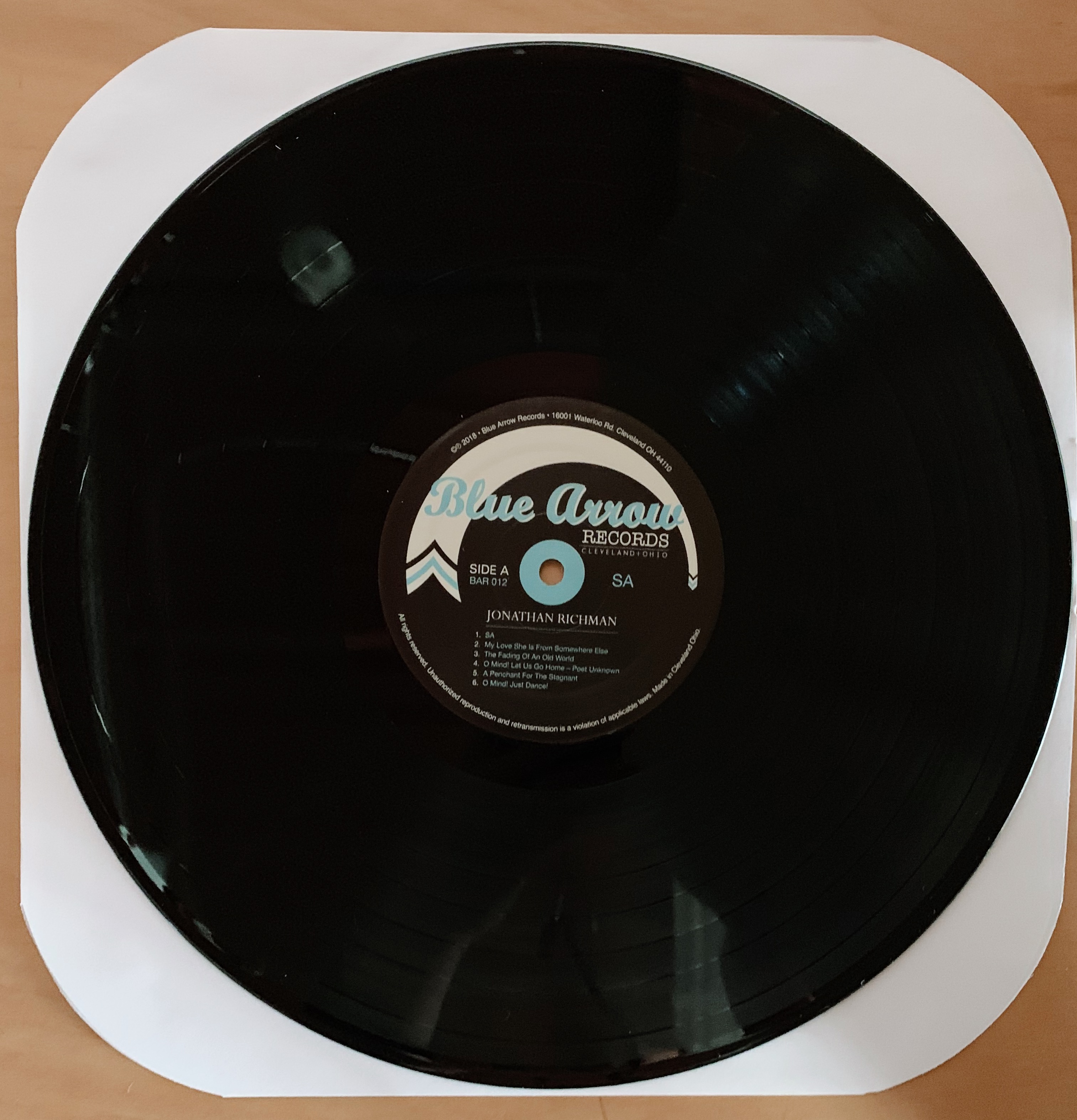 Sa Lp W Download Code Blue Arrow Records
